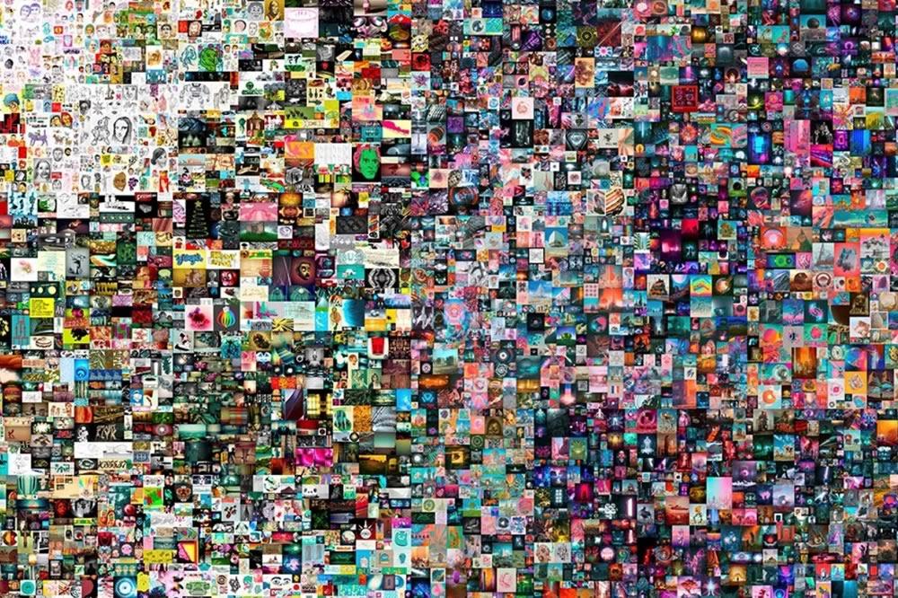 Capolavori dell'arte digitale: un JPEG da 69 milioni di dollari