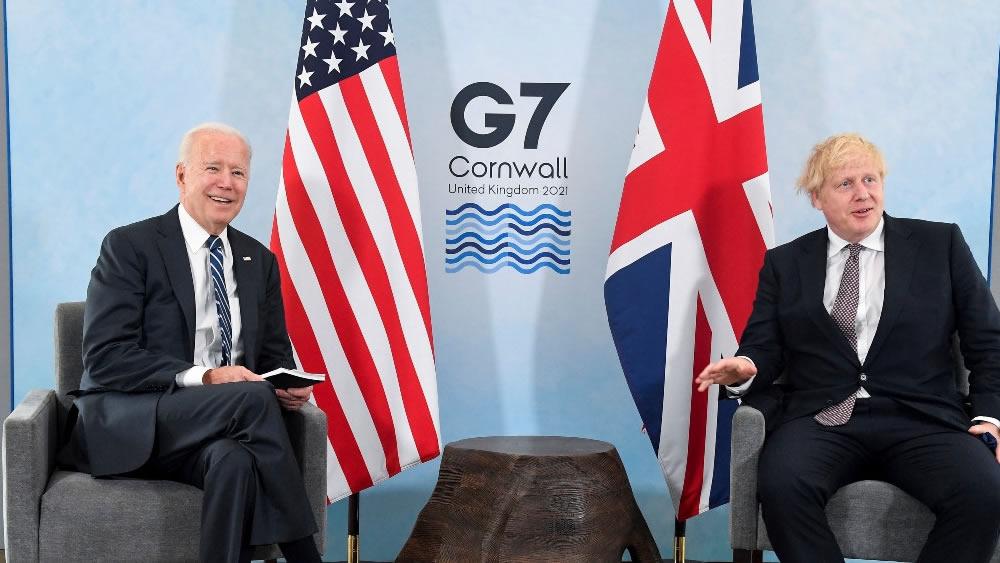 Biden incontra Boris